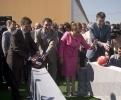 Фоторепортаж: «На месте будущего производства «Ё-мобилей» заложили шарик»