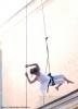 Танцы на брандмауэре и в воздухе: фоторепортаж: Фоторепортаж