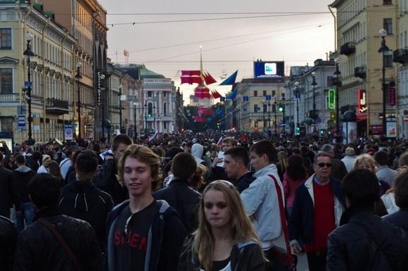 В Петербурге прошли «Алые паруса» (фоторепортаж): Фото