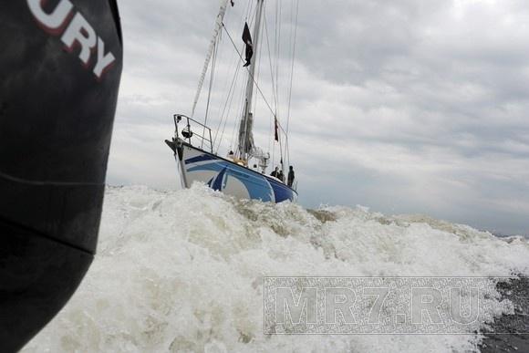 В Петербург прибыла пивная яхта: Фото