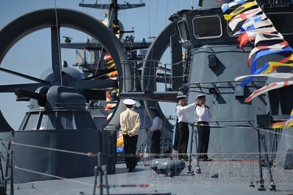 Сегодня открылся Международный военно-морской салон: программа: Фото