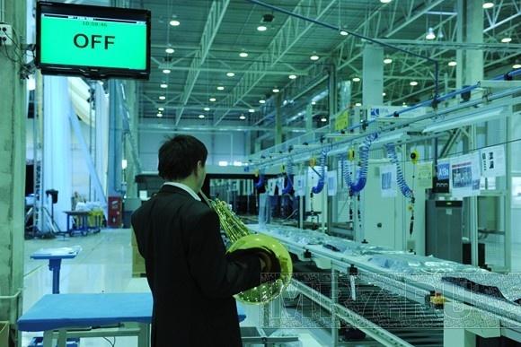В Шушарах начали выпускать LCD-телевизоры: Фото