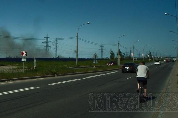 На Парнасе горел хлам: Фото