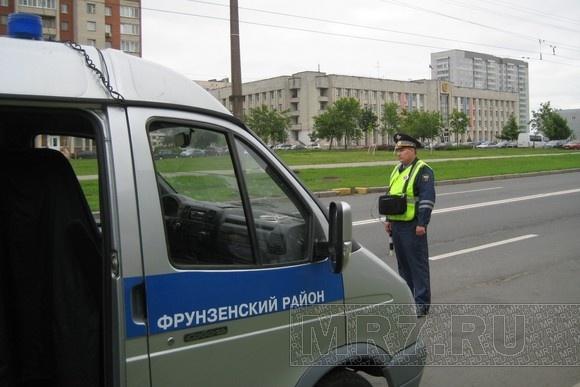 Во Фрунзенском районе ловили водителей с тонированными стеклами: Фото