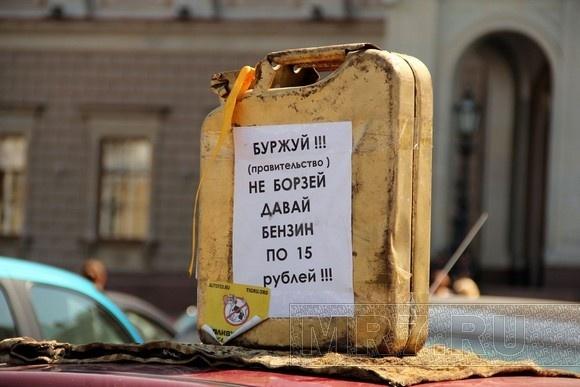 Петербургские водители подали «Сигнал власти»: Фото