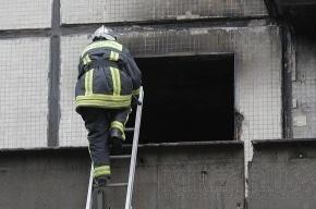 На проспекте Металлистов пожарные спасли женщину