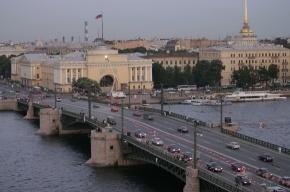 Меняется график разводки Дворцового моста
