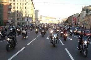 Мотопарад стартует с Дворцовой площади