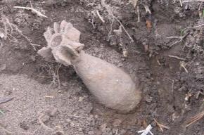 На стройплощадке в Петергофе нашли мину времен войны