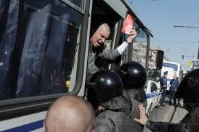«Стратегия-31»: Более 100 задержанных в Москве и Петербурге