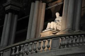 Памятник барону Штиглицу вернулся в Петербург