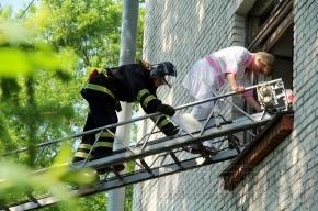 В поликлинике на улице Орджоникидзе тренировались пожарные