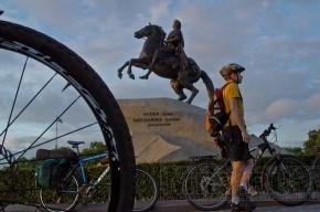 В Петербурге прошел велопробег «Белые Ночи» (фоторепортаж)