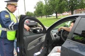 Во Фрунзенском районе ловили водителей с тонированными стеклами