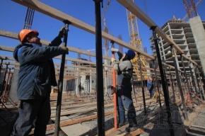 В Петербурге за пять месяцев построено 169 домов на 12 тысяч квартир