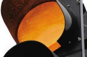 Городские светофоры работали с перебоями
