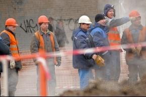 В Невском районе прорвало трубу с кипятком
