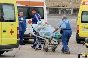 В Петербург доставили раненых при взрыве на свадьбе