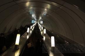 Эскалаторы петербургского метро оборудуют для инвалидов