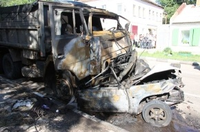 В Саратове столкнулись автобус, грузовик и две легковушки: есть погибшие и пострадавшие