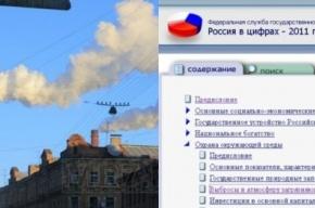 Росстат назвал самые грязные города России