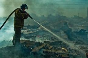 Пожар на полигоне «Красный Бор» локализован