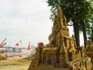 Скульптуры из песка на Заячьем острове: фоторепортаж: Фоторепортаж