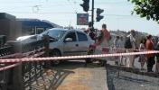 Сроки восстановления Аничкова моста пока неизвестны: Фоторепортаж