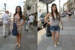 Петербурженки в мини-юбках назвали идею о дресс-коде «глупостью»: Фоторепортаж