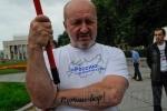В Петербурге прошла акция «Выборы без оппозиции – это преступление»: Фоторепортаж