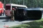 На Мориса Тореза из-за Land Rover, выехавшего на «встречку», погибли двое: Фоторепортаж