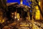 На Косыгина ночью горела церковь: Фоторепортаж