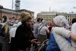Крестный ход в память о последнем русском императоре: Фоторепортаж