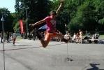 Фоторепортаж: «На роллеродроме ЦПКиО соревновались роллеры»