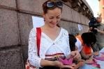 Фоторепортаж: «По Неве поплыли «кораблики надежды» (фоторепортаж)»