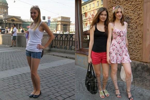 Петербурженки в мини-юбках назвали идею о дресс-коде «глупостью»: Фото