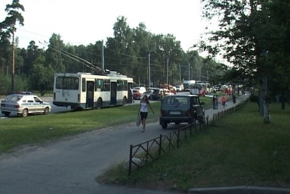 ДТП на Светлановском проспекте: фоторепортаж: Фото