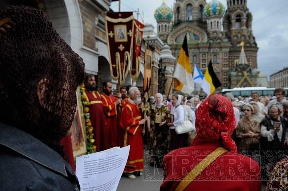 Крестный ход в память о последнем русском императоре: Фото