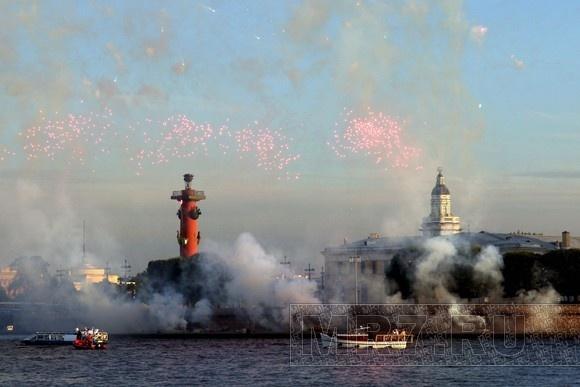 В Петербурге звучала «Музыка на воде» (фоторепортаж): Фото