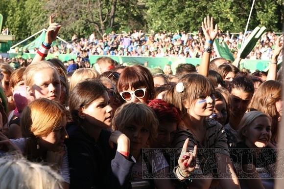 Tuborg GreenFest: петербуржцы увидели «Марсов»!: Фото