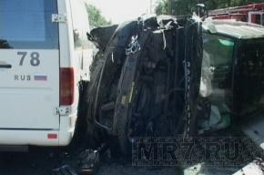 На Мориса Тореза из-за Land Rover, выехавшего на «встречку», погибли двое