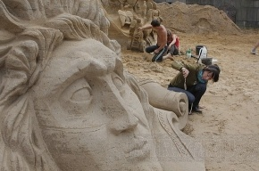 В Петропавловской крепости пройдет детский фестиваль песчаных скульптур