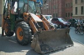 В ДТП с трактором повреждены три авто