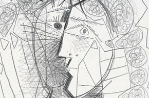 Найден похищенный рисунок Пикассо