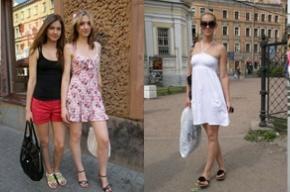 Петербурженки в мини-юбках назвали идею о дресс-коде «глупостью»