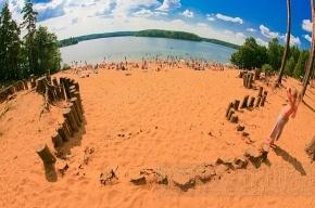 В Петербурге осталось одно озеро, где можно купаться