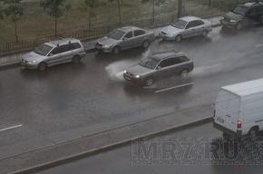 В Петербурге ожидаются ливни и град
