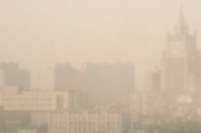 Москвичи начали жаловаться на запах гари
