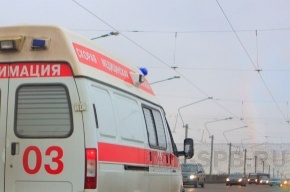 Под Москвой упал учебный самолет
