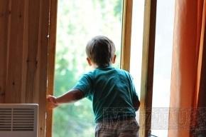 Маленькую Василису спасли от падения из окна
